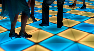 LED Dance Floor in San Antonio